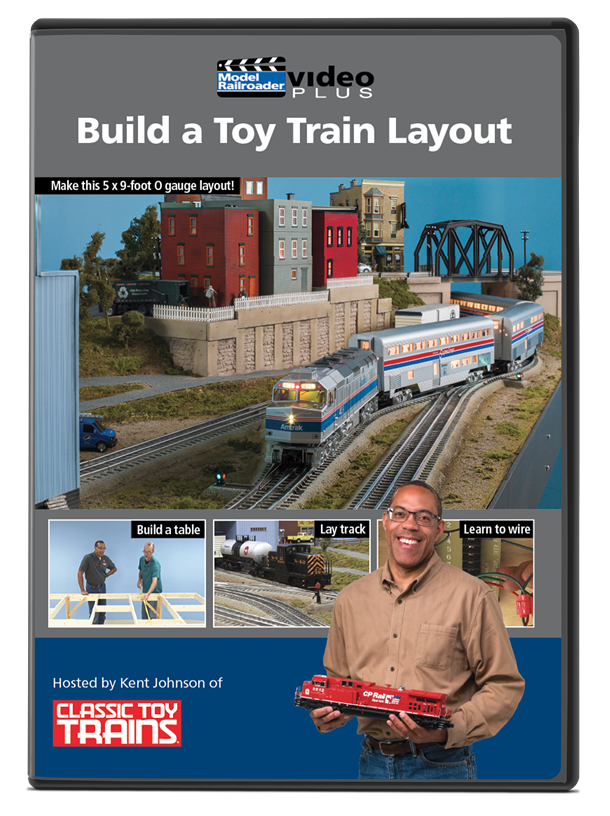Build a Toy Train Layout DVD
