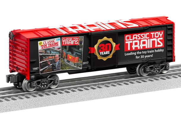 Classic Toy Trains 30th Anniversary Lionel Boxcar