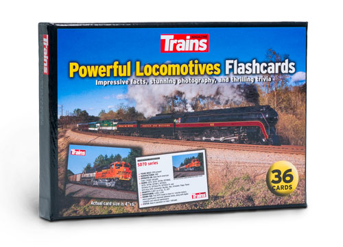 Powerful Locomotives Flashcards