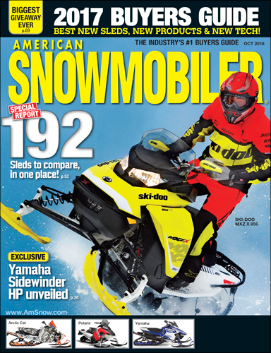 American Snowmobiler 2017 Buyers Guide