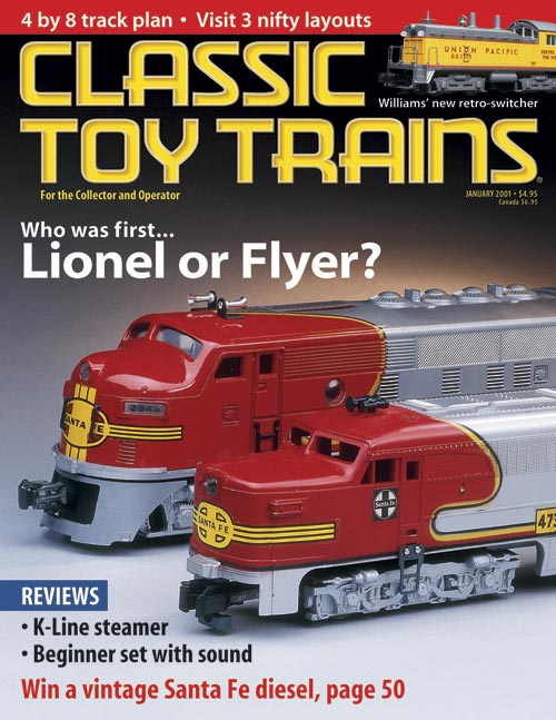 Classic Toy Trains January 2001