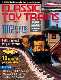 Classic Toy Trains July 2001