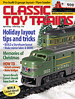 Classic Toy Trains December 2002