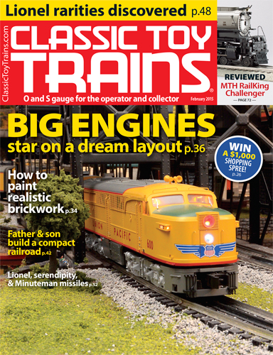 Classic Toy Trains February 2015