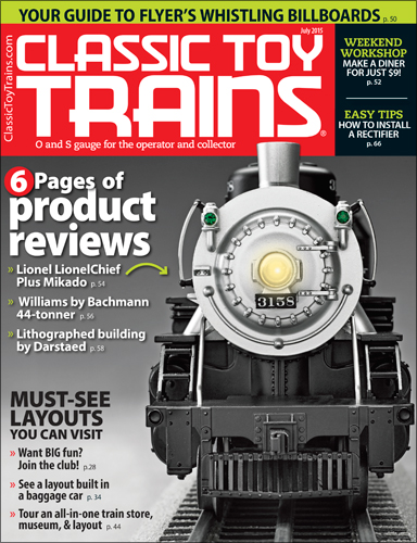 Classic Toy Trains July 2015