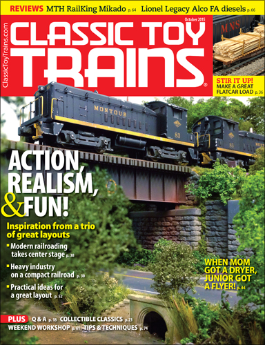 Classic Toy Trains October 2015