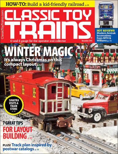 Classic toy Trains December 2015