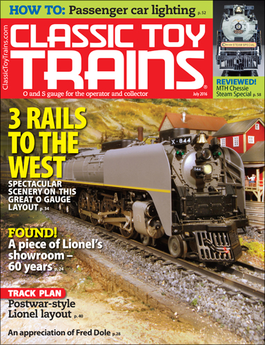 Classic Toy Trains July 2016