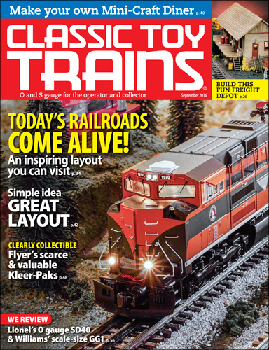 Classic Toy Trains Sep 2016