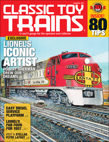 Classic Toy Trains September 2017