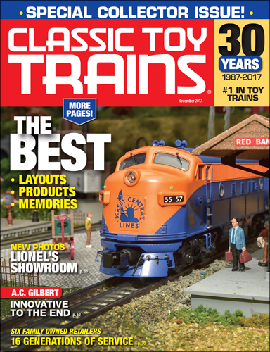 Classic Toy Trains November 2017