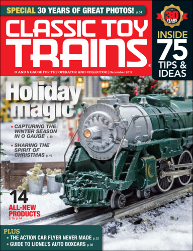 Classic Toy Trains December 2017