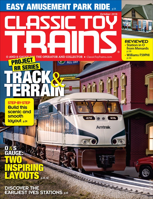 Classic Toy Trains October 2018