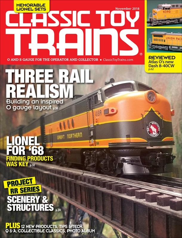 Classic Toy Trains November 2018