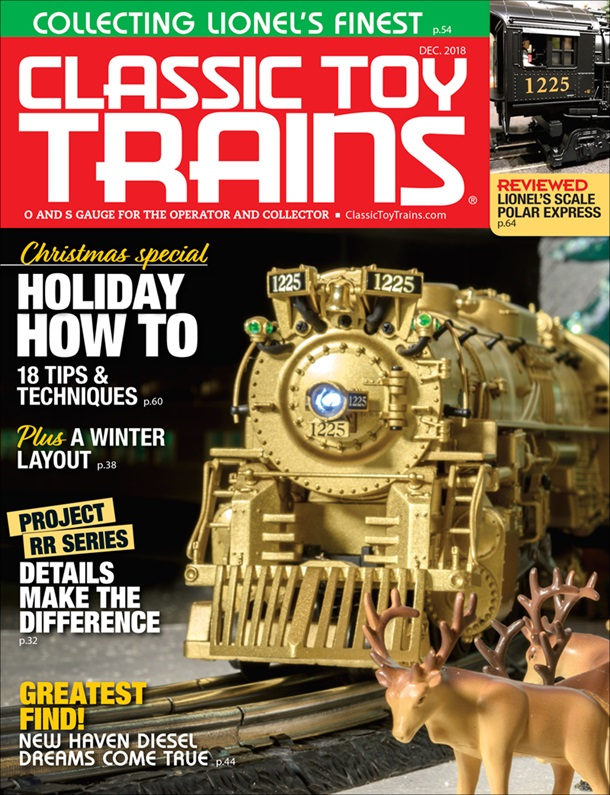 Classic Toy Trains December 2018