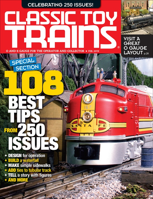 Classic Toy Trains February 2019