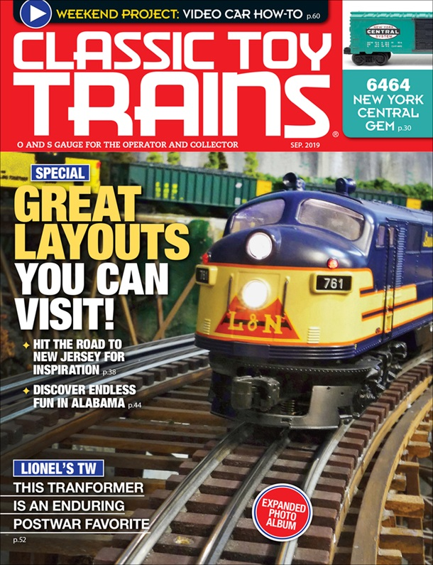 Classic Toy Trains September 2019