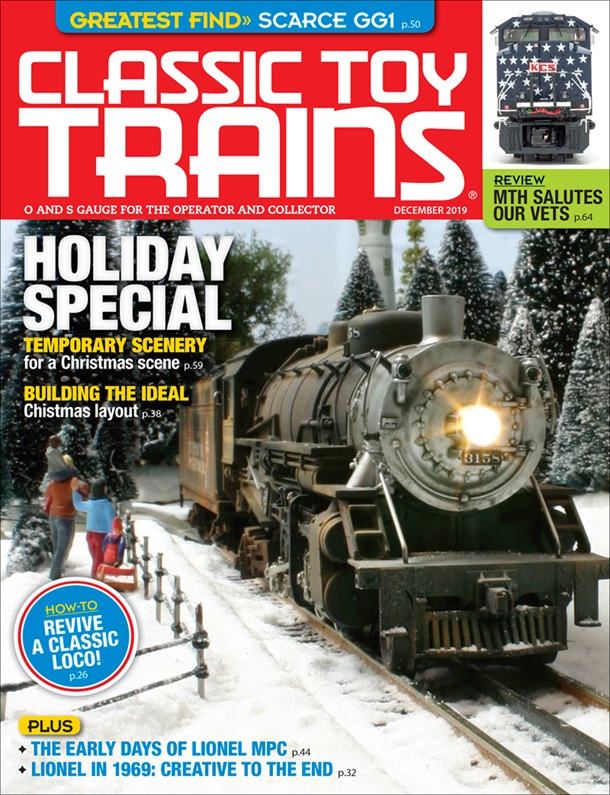 Classic Toy Trains December 2019