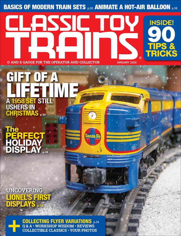 Classic Toy Trains January 2020