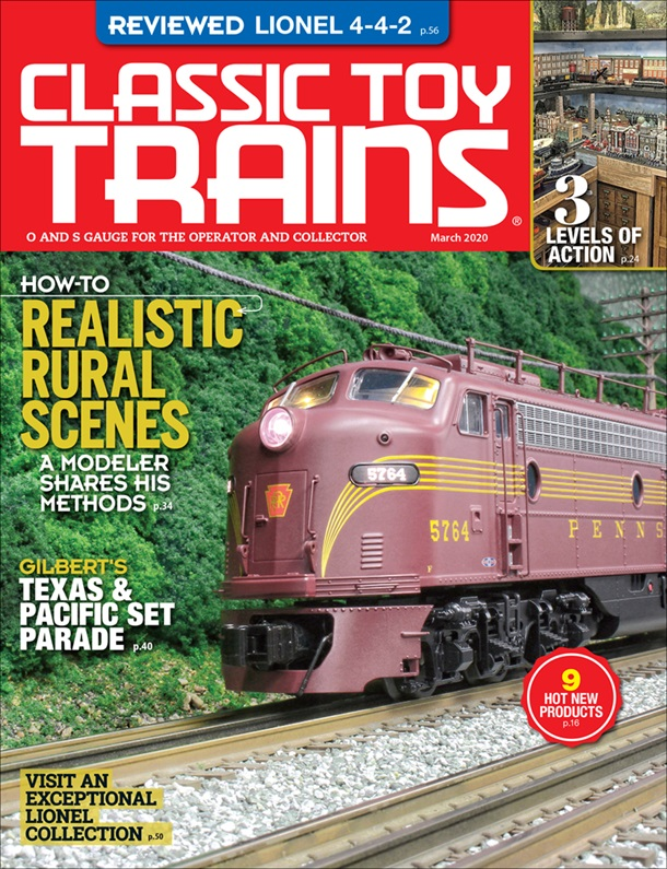 Classic Toy Trains March 2020