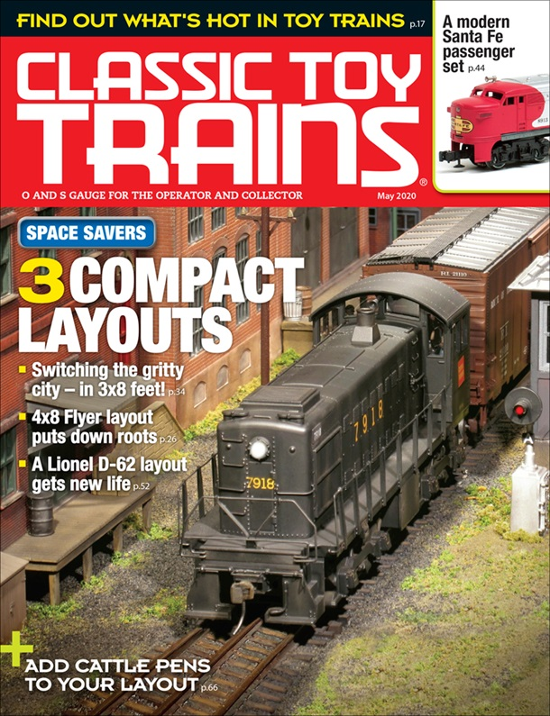 Classic Toy Trains May 2020