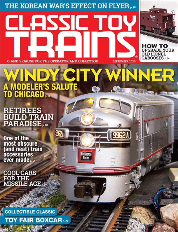 Classic Toy Trains September 2020