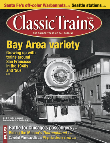 Classic Trains Fall 2014