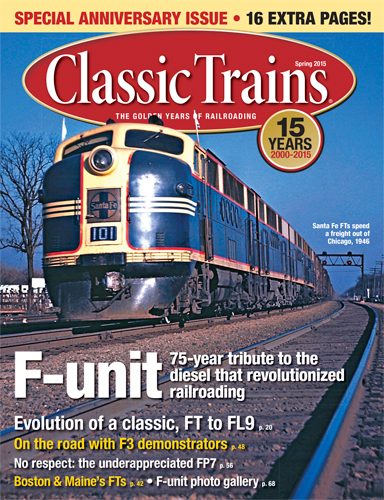 Classic Trains Spring 2015