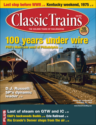 Classic Trains Fall 2015
