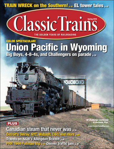Classic Trains Spring 2016