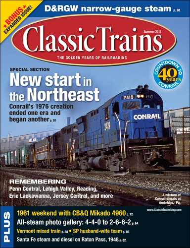 Classic Trains Summer 2016