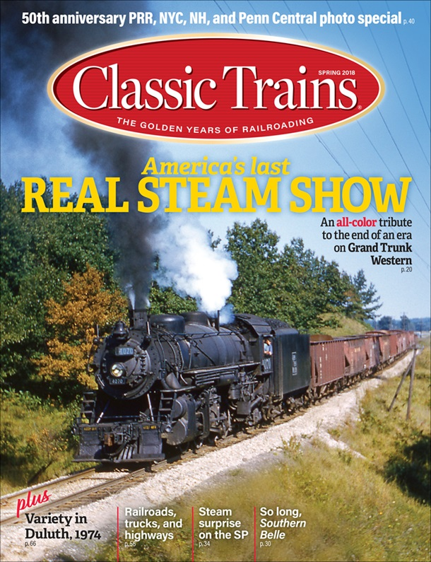 Classic Trains Spring 2018