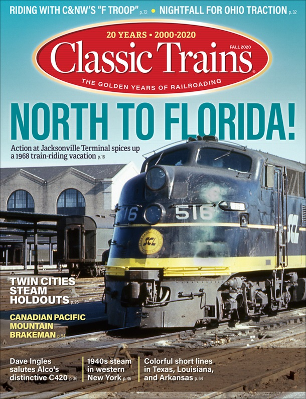 Classic Trains Fall 2020