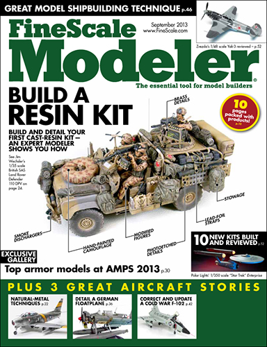 FineScale Modeler September 2013