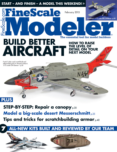 FineScale Modeler February 2015