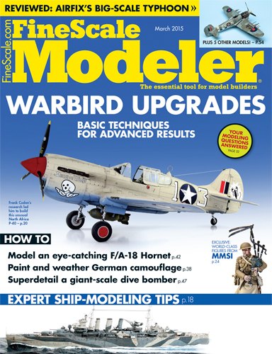 FineScale Modeler March 2015