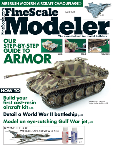 FineScale Modeler April 2015