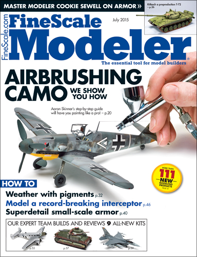 FineScale Modeler July 2015