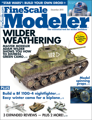FineScale Modeler December 2015