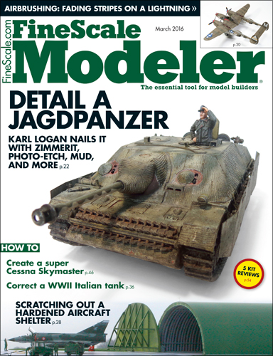 FineScale Modeler March 2016