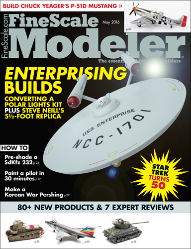 FineScale Modeler May 2016