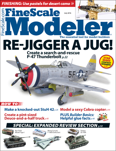 FineScale Modeler July 2016