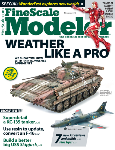 FineScale Modeler Nov 2016