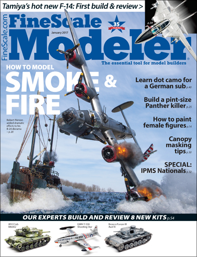 FineScale Modeler January 2017