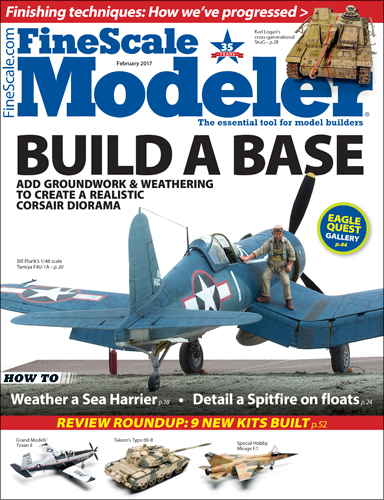 FineScale Modeler February 2017