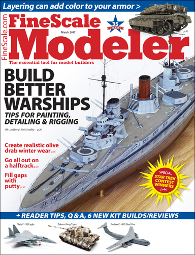 FineScale Modeler March 2017