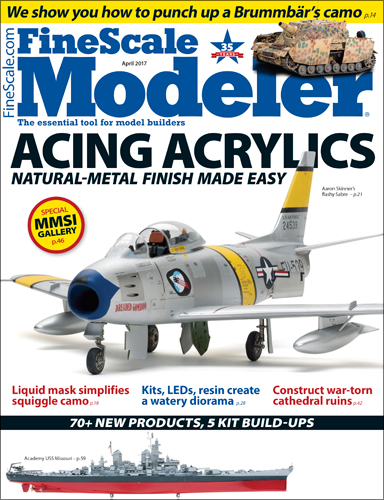 FineScale Modeler April 2017