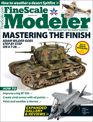 FineScale Modeler September 2017