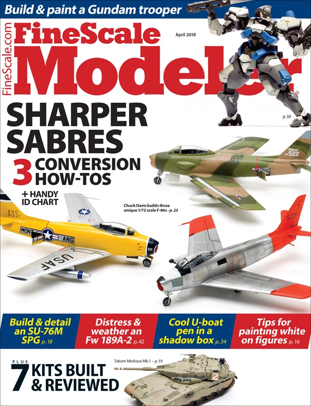 FineScale Modeler April 2018