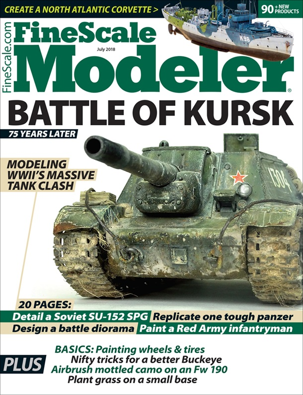 FineScale Modeler July 2018